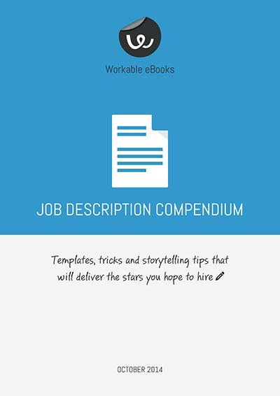 guide to writing a job description