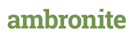 Large ambronite logo green rgb