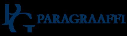 Large logo paragraaffi blue