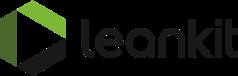 Large leankit white logo