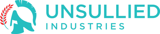Large unsulliedindustries logo color accent