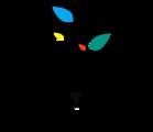 Large tutorama logo black