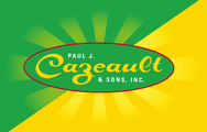 Large cazeault logo w burst
