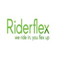 Large riderflex logo