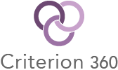 Large criterion 360 logo stacked 100x168px