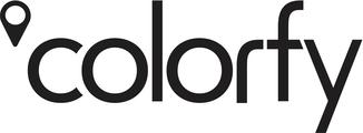 Large colorfy logo black