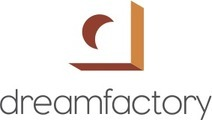 Large dreamfactory logo stacked