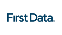 Large new first data logo