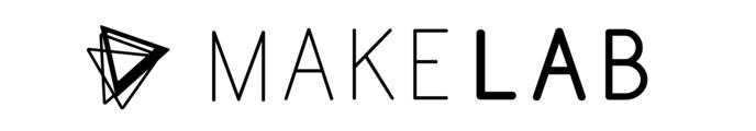 Large makelab logo black