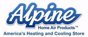 Alpine Home Air Products Company Logo