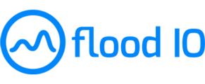 Large flood logo blue small
