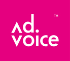 Large advoice logo red