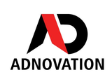 Large adno logo with new font and red midle 1