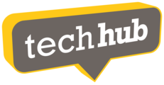 Large techhub 3d logo png