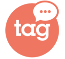 Large logo tag