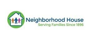Large neighborhood house logo