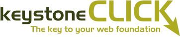 Large keystone click logo