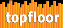 Large large topfloor orange logo