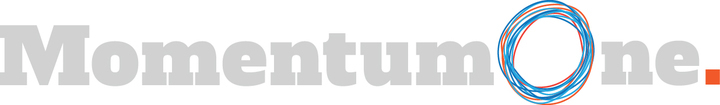 Large momentumone logo grey rgb