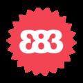 Large 383 logo   carnation
