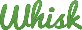 Large whisk logo green