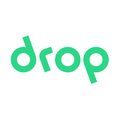 Large drop logo small