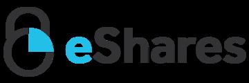 Large eshares logo white 1