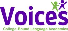 Large voices logo
