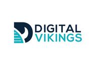 Large digital vikings logo   no slogan