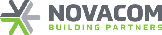 Large novacom logo colour