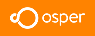 Large osper logo inline orange