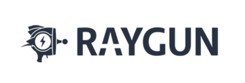 Large raygun logo 500px flat blue whitebg