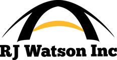 Large rj watson logo full color