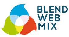 Large logo blendwebmix rvb