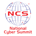 Large national cyber summit logo color