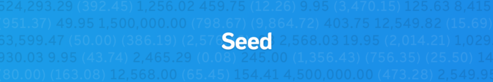 Large seed workable banner