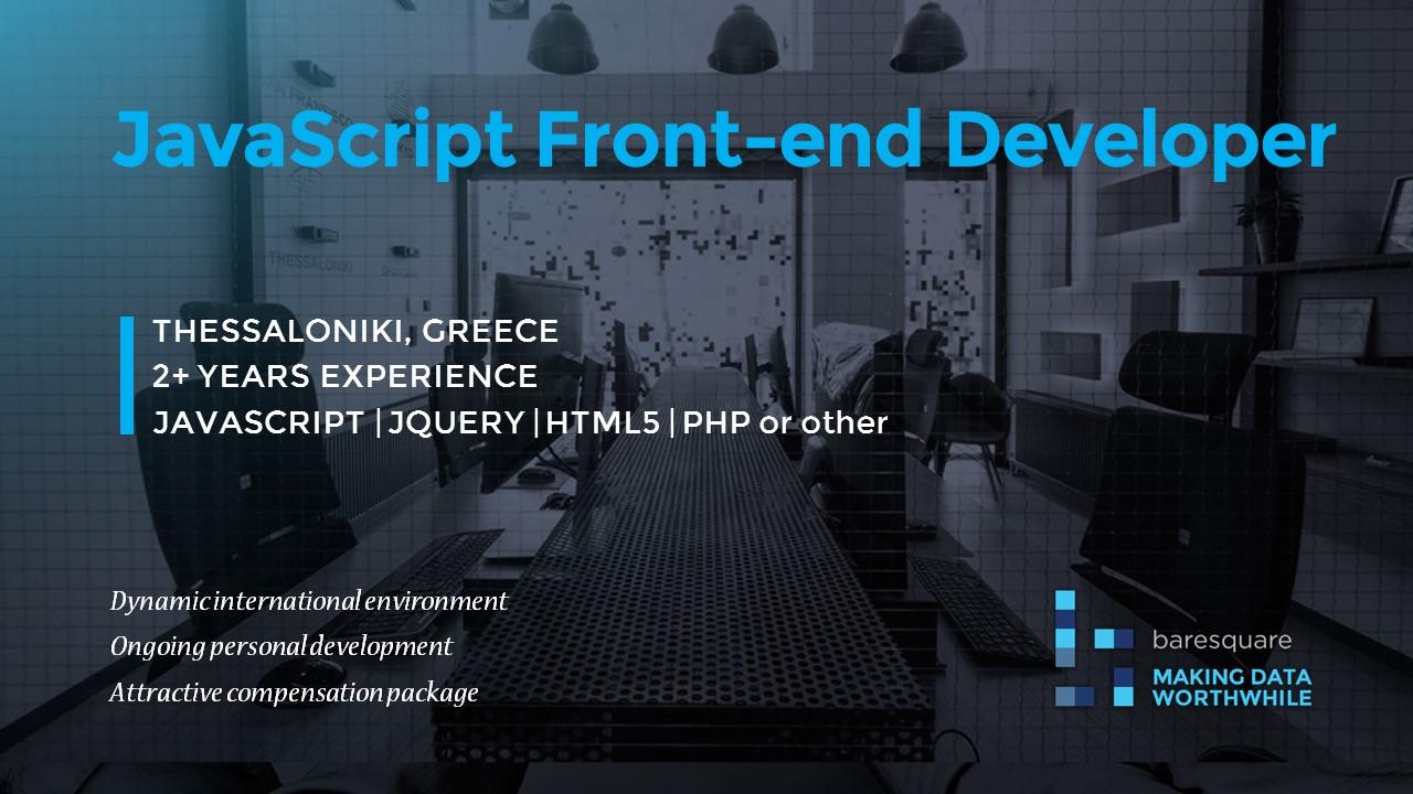 front end developer job description