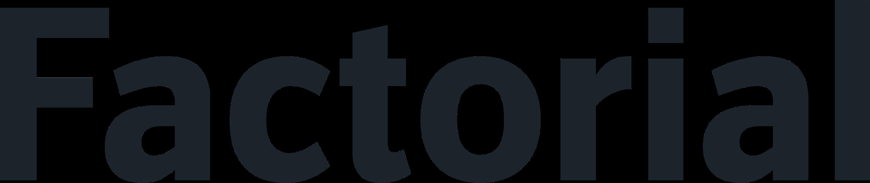 Factorial logo