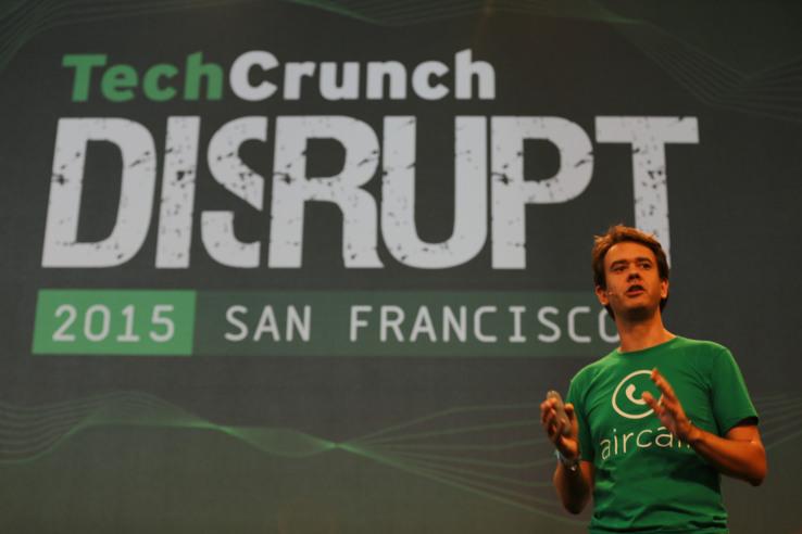 Aircall at Techcrunch Disrupt