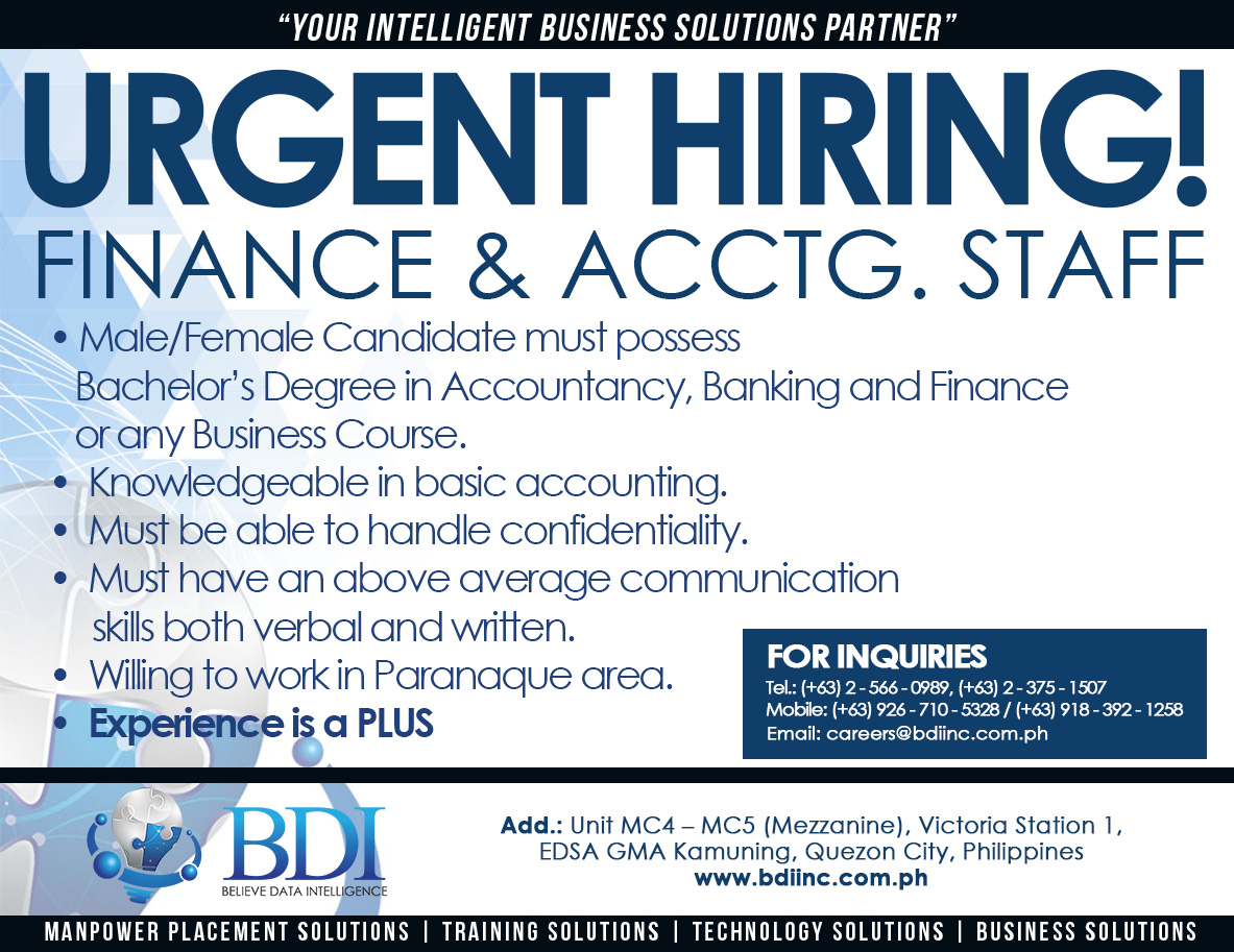 Accounting Job Listings